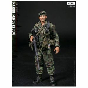 PRE-ORDER Damtoys 1/12 Pocket Elite Series Marine Force Recon