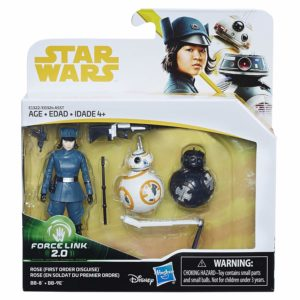 Star Wars 3.75″ Force Link 2 Rose with BB-8 and BB-9E
