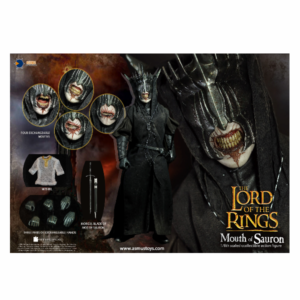 PRE-ORDER Asmus Toys The Lord of the Rings The Mouth Of Sauron Slim Version 1/6 Scale Figure 10% DEPOSIT OPTION