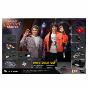 PRE-ORDER Blitzway Bill & Ted's Excellent Adventure 1/6 Scale Collectible Figure Set 10% DEPOSIT OPTION