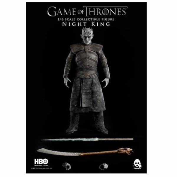 Game Of Thrones The Night King 1 10 Scale: PRE-ORDER ThreeZero Game Of Thrones 1/6 Night King Figure
