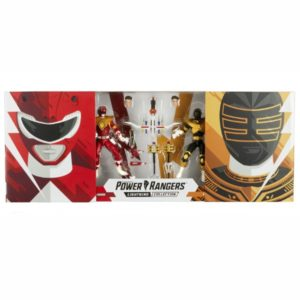 PRE-ORDER Power Rangers Lightning Collection Mighty Morphin Red Ranger and Zeo Gold Ranger 2 Pack