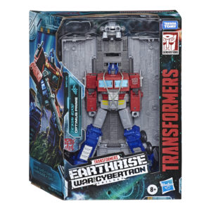 Transformers Earthrise Leader Optimus Prime with Trailer