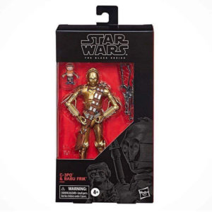 PRE-ORDER Star Wars Black Series C-3PO and Babu Frik