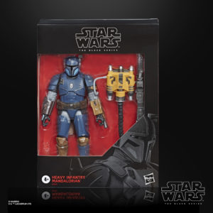 Star Wars Black Series Deluxe Heavy Infantry Mandalorian