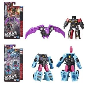 Transformers Micromasters Rumble / Ratbat and Direct-Hit / Power Punch Set