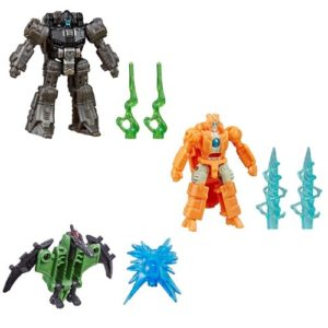 PRE-ORDER Transformers Battle Masters Rung, Singe and Pteraxadon Set of 3