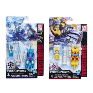 Transformers Power of the Primes Prime Master Alchemist Prime and Alpha Trion Set of 2