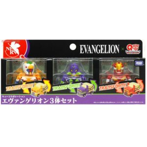 Q Transformers Evangelion 3 Pack