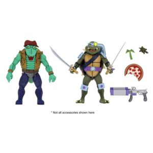PRE-ORDER Neca Teenage Mutant Ninja Turtles Leatherhead and Slash