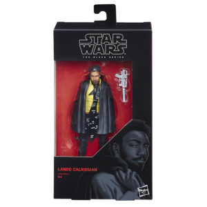 Star Wars Black Series Solo Movie Lando Calrissian