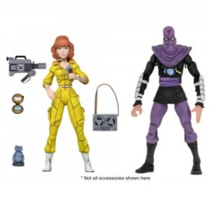PRE-ORDER Neca Teenage Mutant Ninja Turtles April O'Neil and Foot Soldier