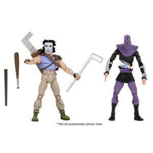 PRE-ORDER Neca Teenage Mutant Ninja Turtles Casey Jones and Foot Soldier