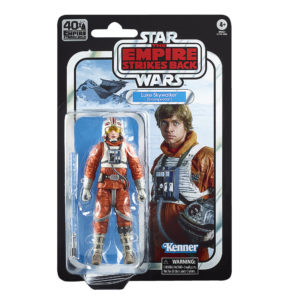 Star Wars 40th Anniversary Wave 2 Luke Skywalker Snowspeeder Pilot