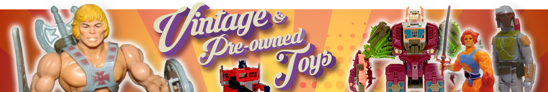 Vintage and pre-own toys
