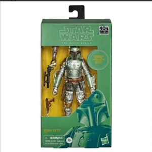 PRE-ORDER Star Wars Black Series Carbonized Boba Fett (2nd Batch Due August)