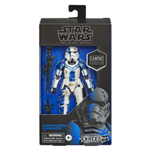 PRE-ORDER Star Wars Black Series Gaming Greats Stormtrooper Commander