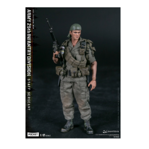 PRE-ORDER Damtoys Pocket Elite Series Army 25th Infantry Division Staff Sergeant 1/12 Scale Collectible Figure