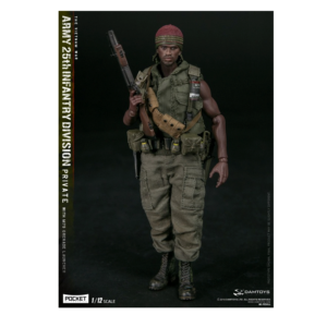 PRE-ORDER Damtoys Pocket Elite Series Army 25th Division Private with M79 Grenade Launcher 1/12 Scale Collectible Figure