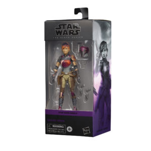 PRE-ORDER Star Wars Black Series REBELS Sabine Ren (1 PER CUSTOMER)