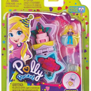 Polly Pocket Tiny Pocket World (Birthday Cake)