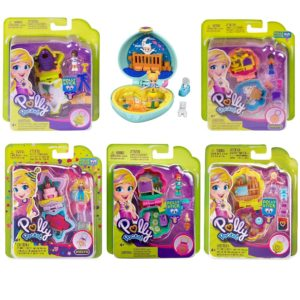 Polly Pocket Tiny Pocket World Set of 6