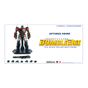 PRE-ORDER ThreeZero x Hasbro Bumblebee Movie DLX Optimus Prime Collectible Figure