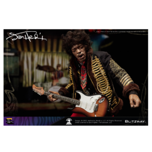 PRE-ORDER Blitzway Jimi Hendrix 1/6 Scale Collectible Figure