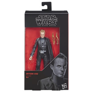 Star Wars Black Series Solo Movie Dryden Vos