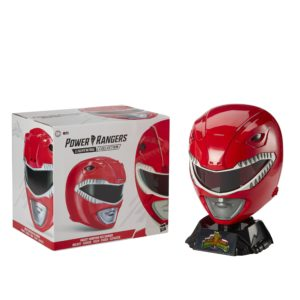 PRE-ORDER Power Rangers Lightning Collection Mighty Morphin Red Ranger Helmet