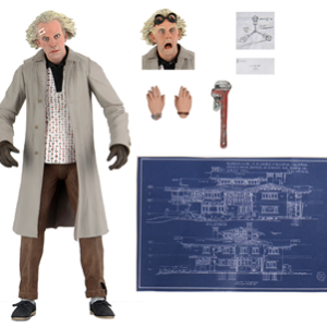 PRE-ORDER Neca Back To The Future Ultimate Doc Brown