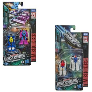 PRE-ORDER Transformers Earthrise Micromaster Wave 2 Race Track Patrol and Astro Patrol Set of 2