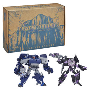 Transformers Prime Reissue Jet Vehicon and Breakdown