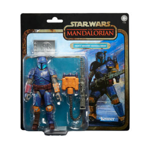 PRE-ORDER Star Wars 6″ Mandalorian Credit Collection Heavy Mandalorian