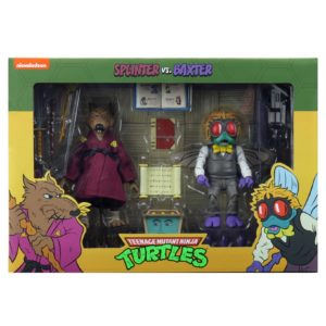 PRE-ORDER Teenage Mutant Ninja Turtles Cartoon Splinter and Baxter