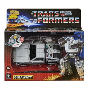 PRE-ORDER Transformers X Back To The Future Crossover Gigawatt