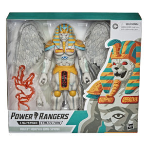 PRE-ORDER Power Rangers Lightning Collection Mighty Morphin King Sphinx