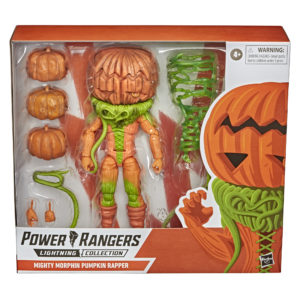 PRE-ORDER Power Rangers Lightning Collection Mighty Morphin King Sphinx Pumpkin Rapper