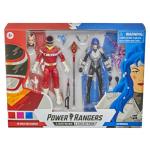 PRE-ORDER Power Rangers Lightning Collection In Space Red Ranger and Astronema