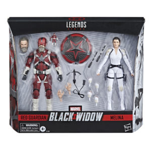 PRE-ORDER Marvel Legends Black Widow Movie 2 Pack Red Guardian and Melina