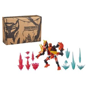 PRE-ORDER Transformers Kingdom Deluxe Tricranius Beast Power