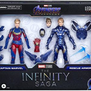 PRE-ORDER Marvel Legends Infinity Saga Captain Marvel and Rescue Armor