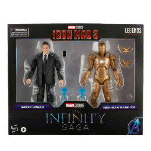 PRE-ORDER Marvel Legends Infinity Saga Happy Hogan and Iron Man MKXXI