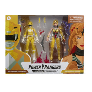 PRE-ORDER Power Rangers Lightning Collection Mighty Morphin Yellow Ranger and Scorpina