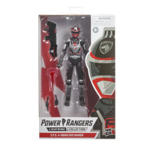 PRE-ORDER Power Rangers Lightning Collection S.P.D. A-Squad Red Ranger
