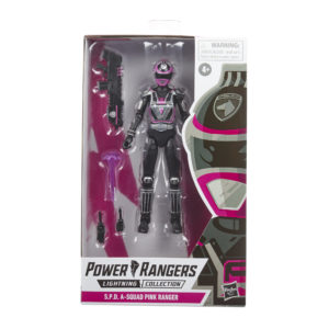 PRE-ORDER Power Rangers Lightning Collection S.P.D. A-Squad Pink Ranger