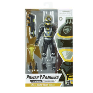 PRE-ORDER Power Rangers Lightning Collection S.P.D. A-Squad Yellow Ranger