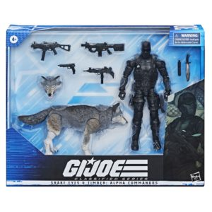 PRE-ORDER G.I. Joe Classified Series Snake Eyes with Timber