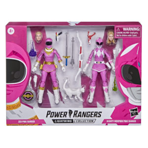 PRE-ORDER Power Rangers Lightning Collection Mighty Morphin Pink Ranger and Zeo Pink Ranger